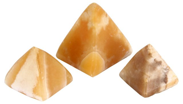 Alabaster Pyramids, S/3