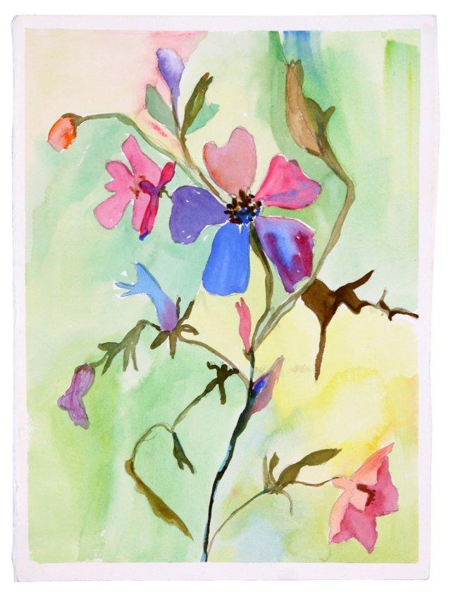 Wildflower Watercolor