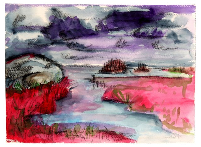 Landscape in Abstract, 1981