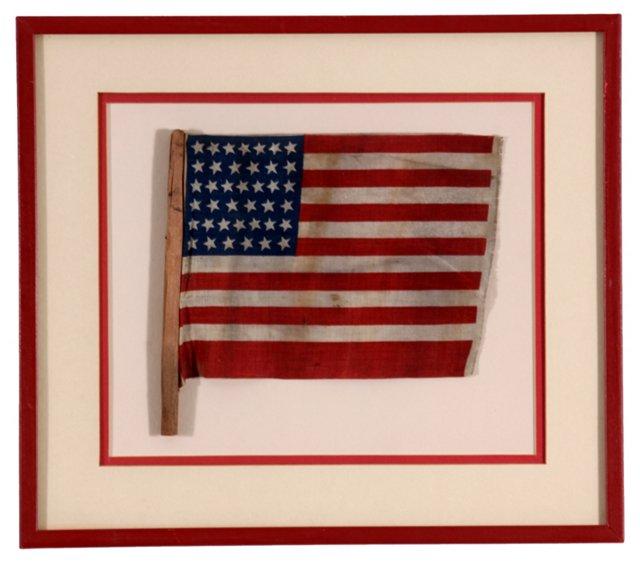 39-Star  American  Flag,     1889