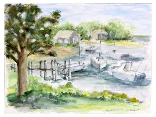 Harborside  Watercolor