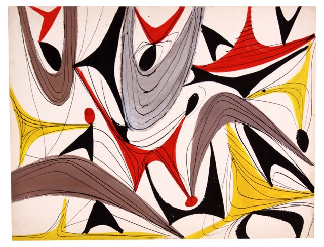Midcentury  Abstract