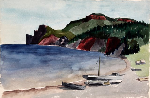 Watercolor Cove