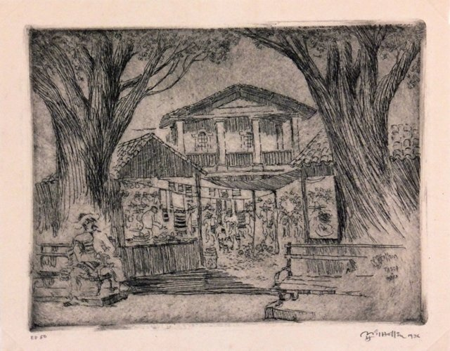 Taxco Market, 1936