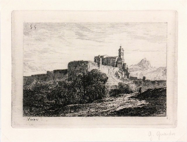 French   Castle, C. 1930