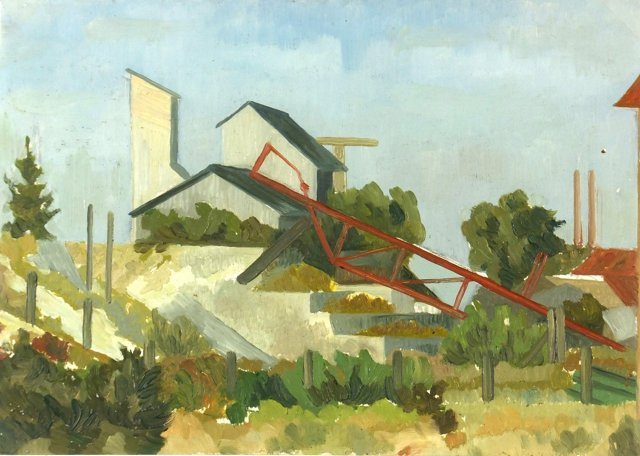 Industrial Landscape, C. 1950