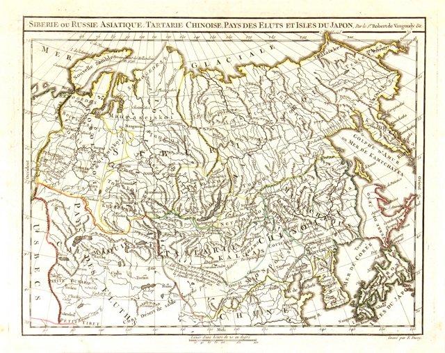 China, Siberia & Central Asia, 1778