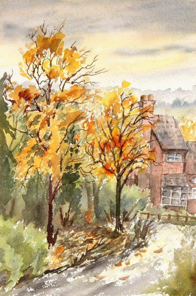 Autumn Stream, C. 1960