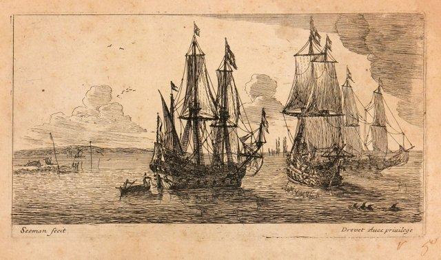 Reinier Zeeman Ships, C. 1650
