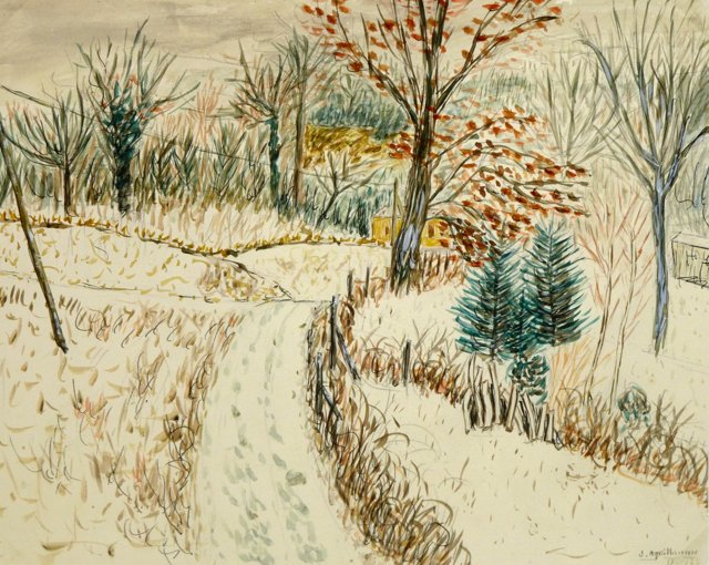 Wintry Clearing, 1978