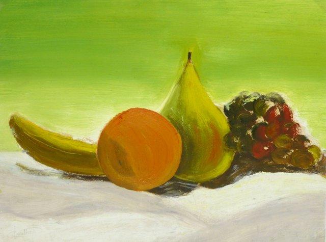 Fruit Still Life, C. 1950