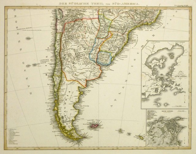 Southern South America, 1843