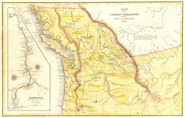 Oregon Territory, 1849