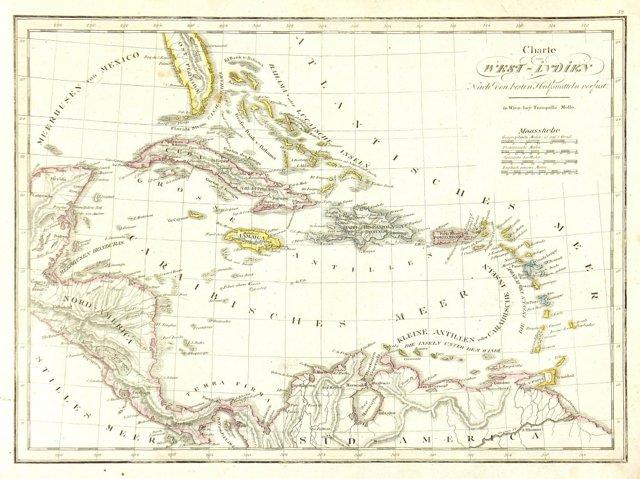 Caribbean, 1818