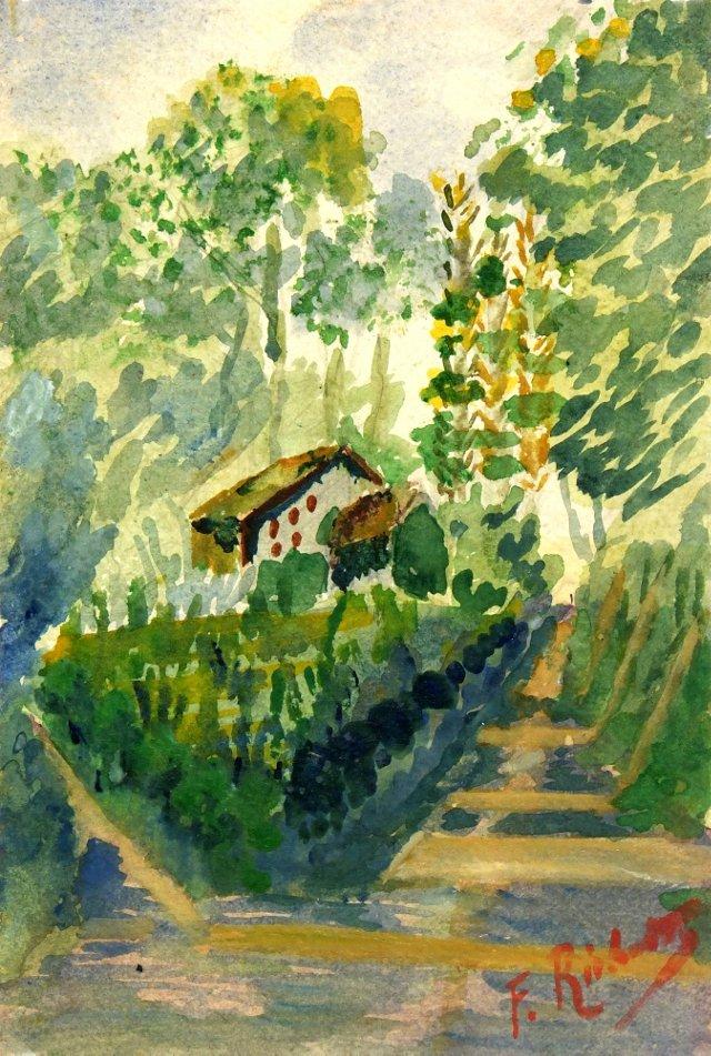 Country Landscape, C. 1920