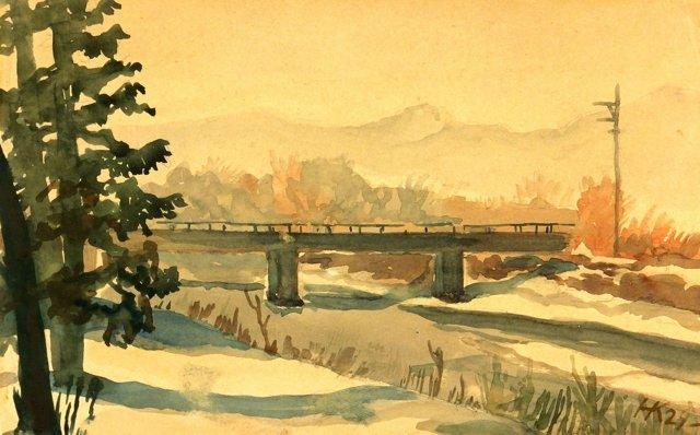 Winter Bridge, 1929