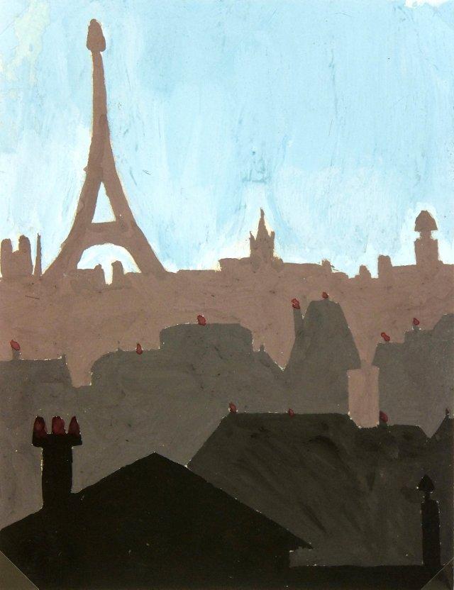 Paris City View, C. 1970
