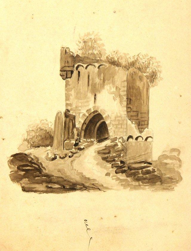 Chairish- Old Tower, C.1870