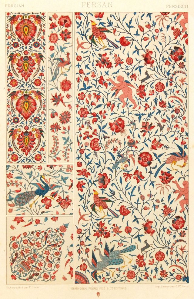 Persian Plants, C. 1890