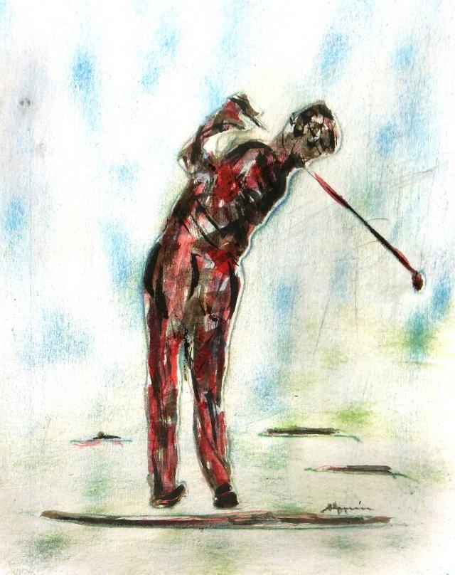 Golfer, C. 1970