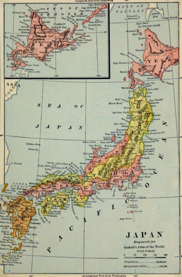 Japan, 1886