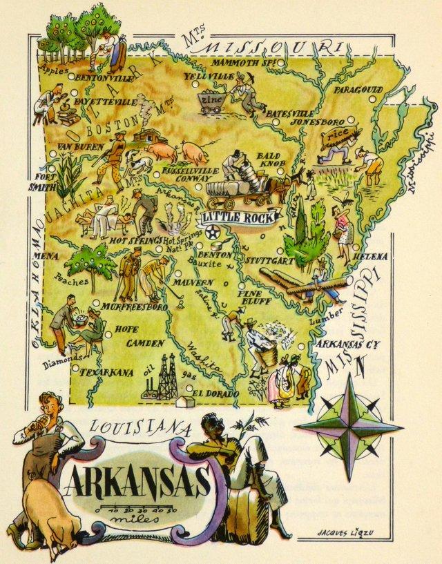 Arkansas,  1946