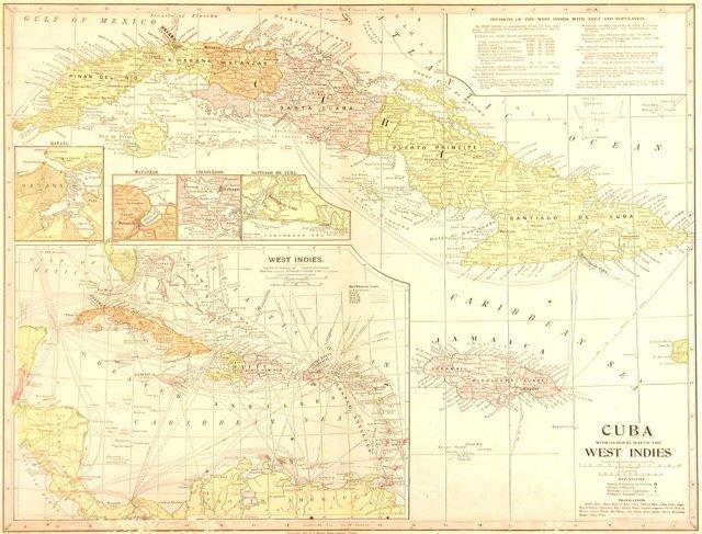 Cuba & the West Indies, 1899