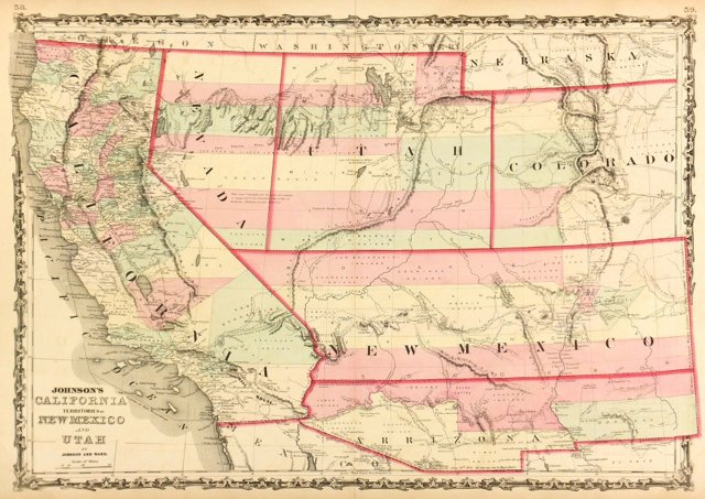 American West, 1862
