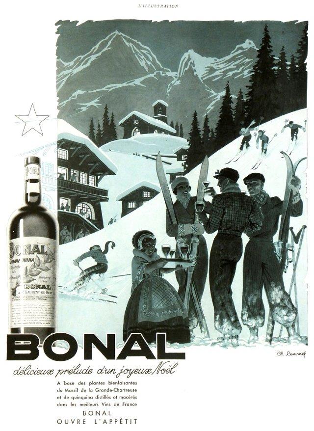 Bonal Aperitif, C. 1930