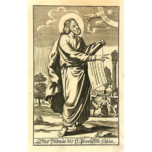 Renaissance Engraving, 1680