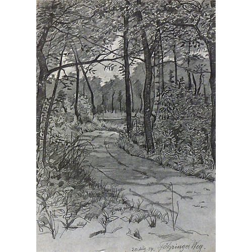 Country Road, 1914