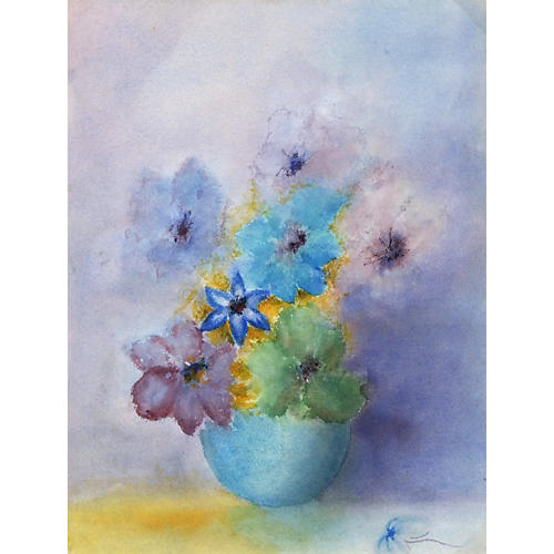 Blue Flowers, 1978