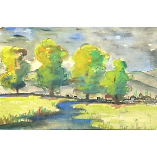 Verdant Landscape, 1963