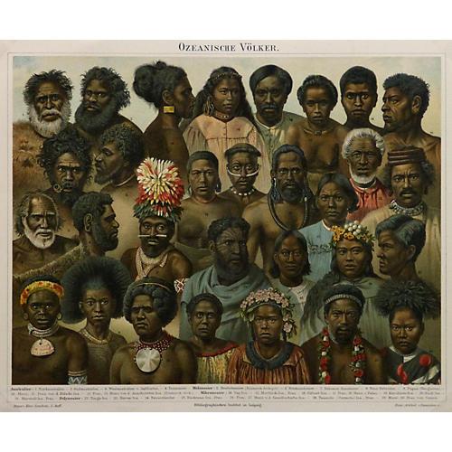 Oceanic Peoples, 1888