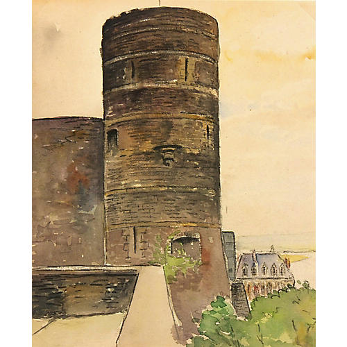 Castle Tower, C. 1940