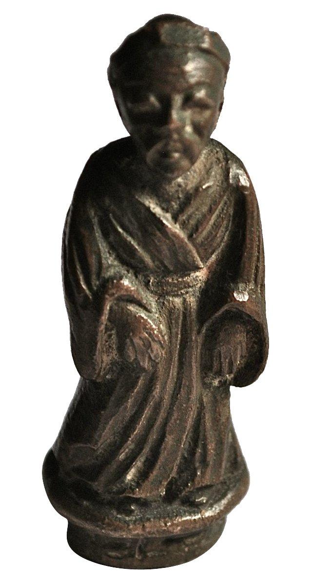 Bronze Eastern Scholar Finial