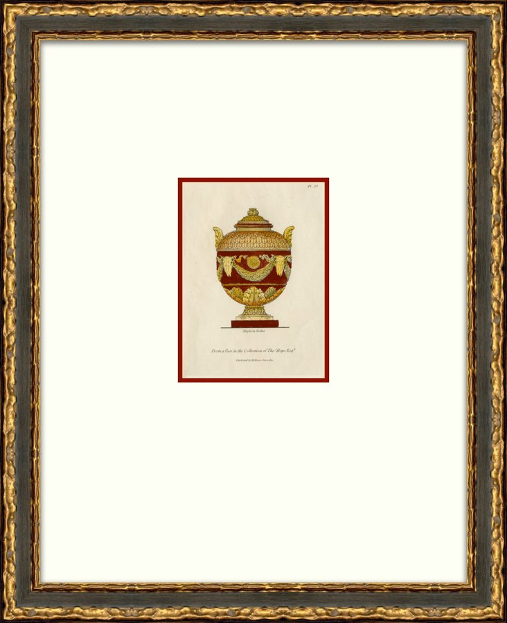 Burgundy     Urn
