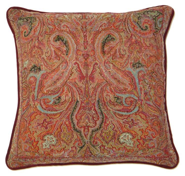 Kashmir  Paisley   Pillow