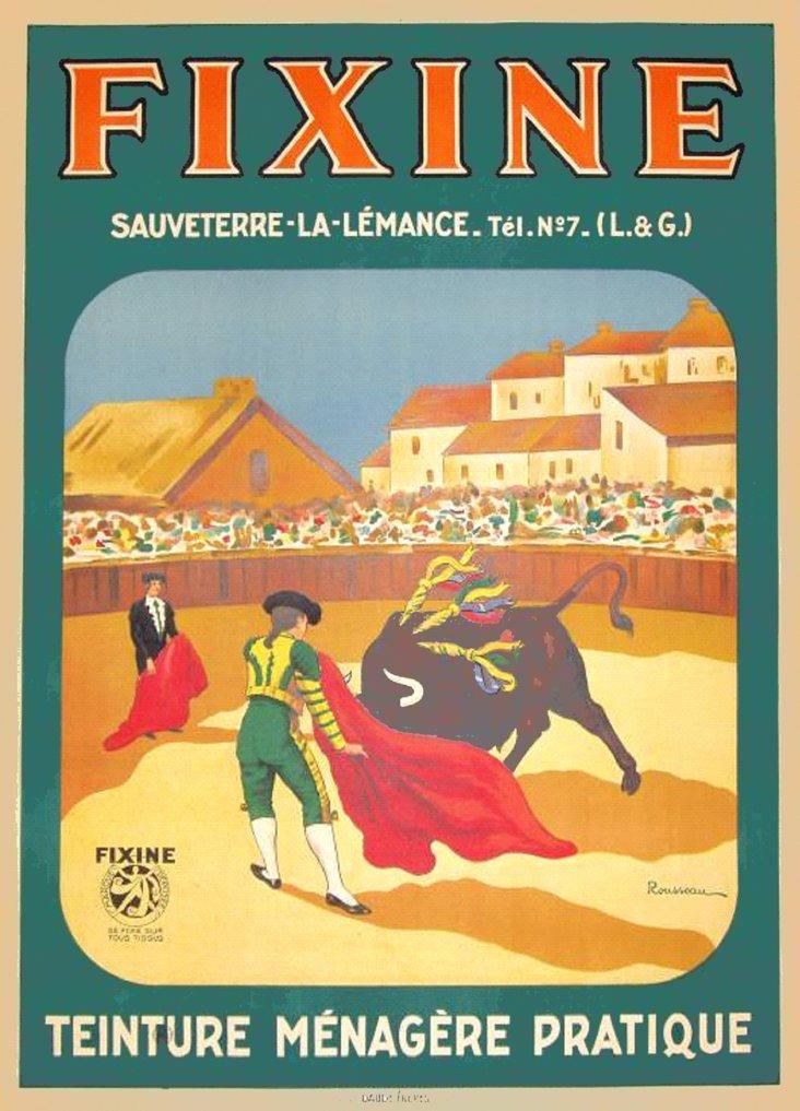 Jean Rousseau Dye Poster