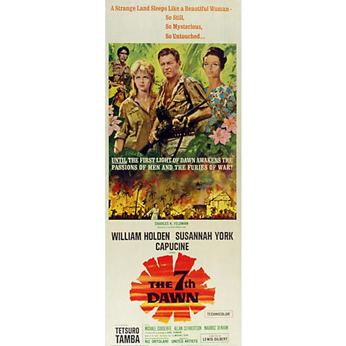 The 7th Dawn Movie Poster, 1964