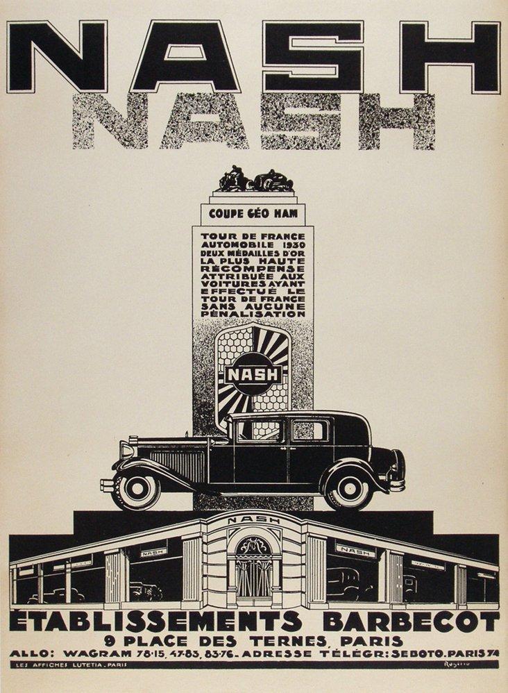 Nash Automobile Poster