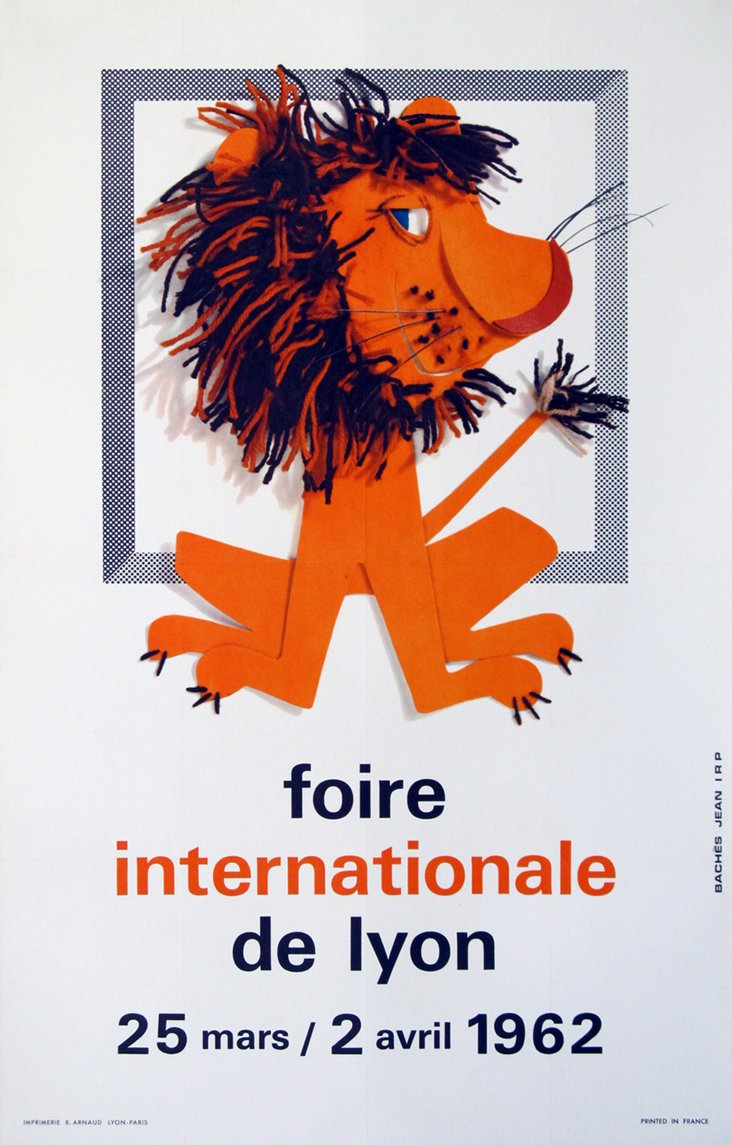Foire de Lyon Poster, 1962