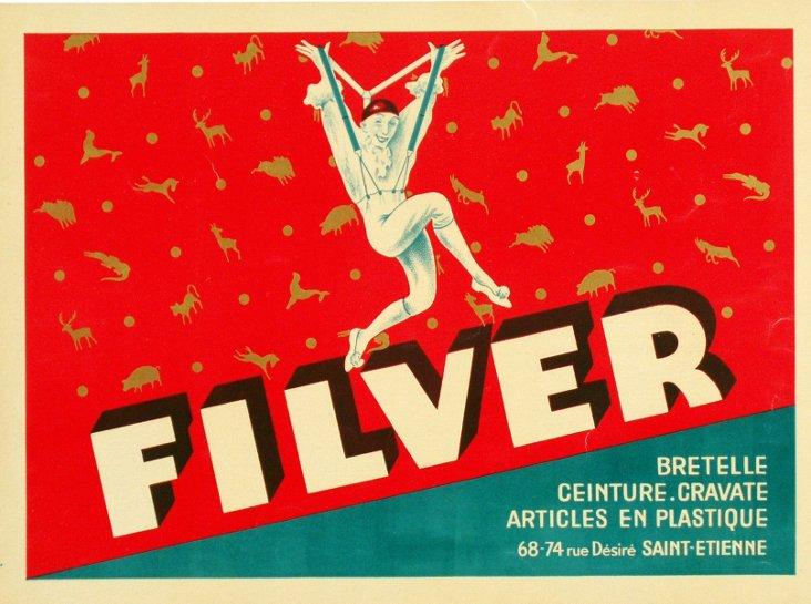 Filver Suspender Poster, C. 1930