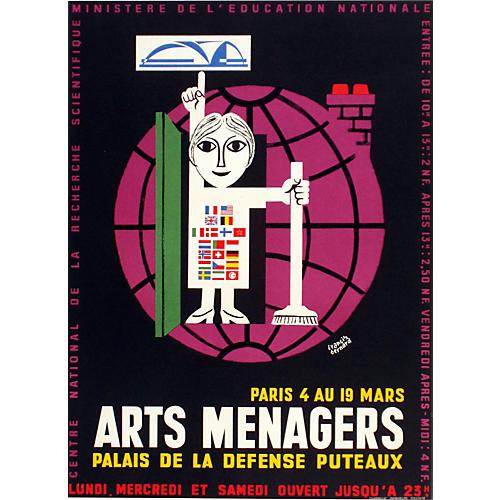 Arts Menagers Poster, C. 1965