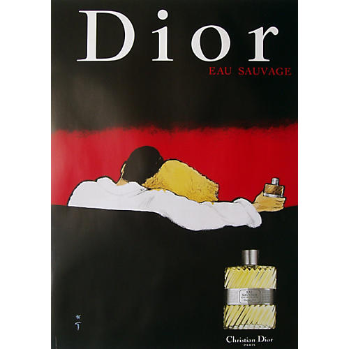Original Christian Dior Savage Poster