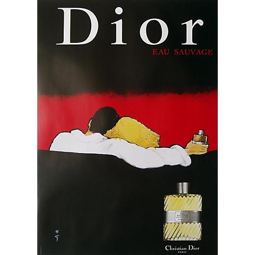 Original Christian Dior Savage Poster