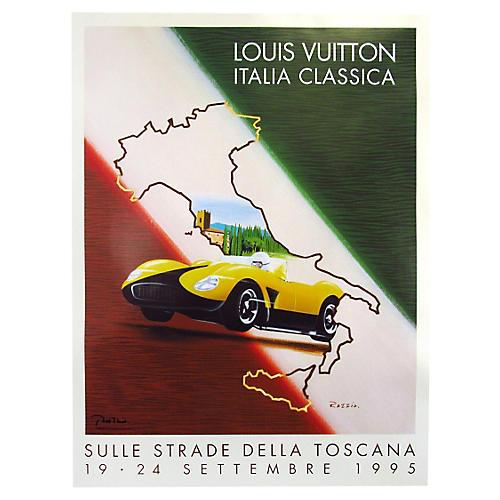 Louis Vuitton Italia Classica Poster