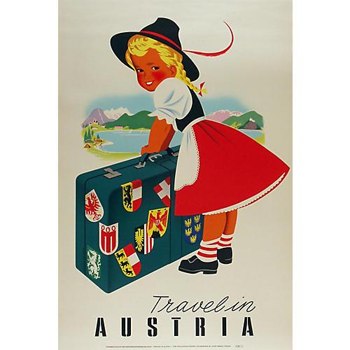 Travel in Austria Poster
