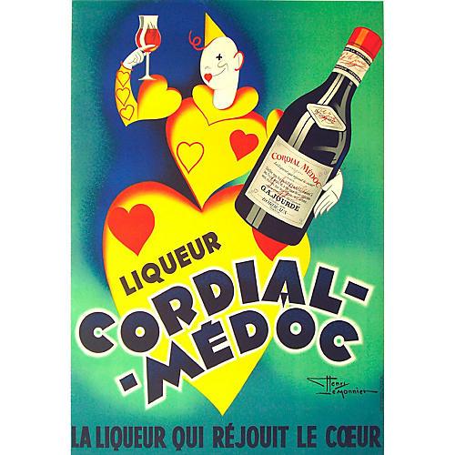 Cordial Medoc Liqueur Poster