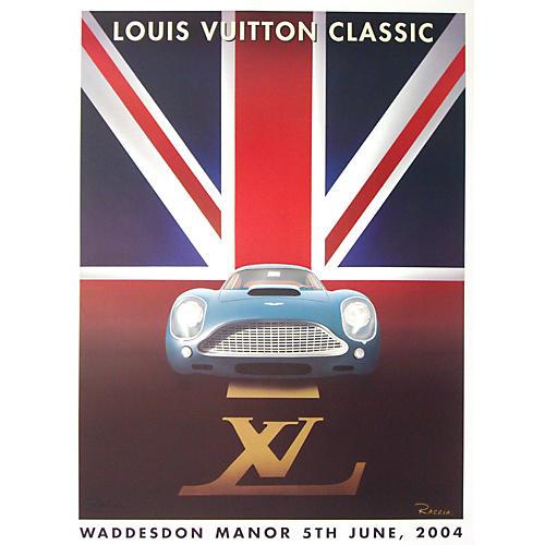 LV Classic Aston Martin Poster